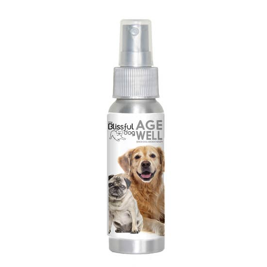 The Blissful Dog - Age Well Dog Aromatherapy Calming & Grounding Spray 2.7 oz - Bulletproof Pet Products Inc