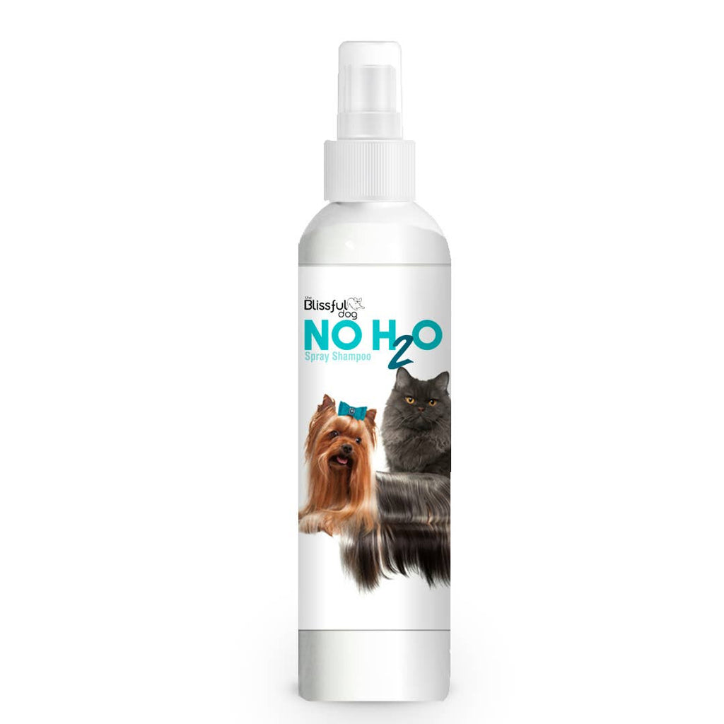 The Blissful Dog - No H2O Spray Dog Shampoo You Don't Get Wet! 4 oz - Bulletproof Pet Products Inc