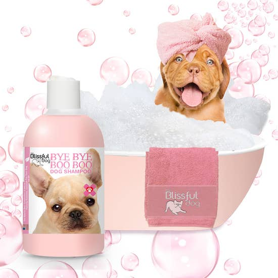 The Blissful Dog - Bye Bye Boo Boo Dog Shampoo for Itchy Skin 4 oz - Bulletproof Pet Products Inc