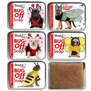 Bug Off Dog Bar Soap - By Blissful Dog - 3.5 oz - Bulletproof Pet Products Inc