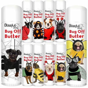 Bug off Butter - .50 oz Tube - By Blissful Dog - Bulletproof Pet Products Inc