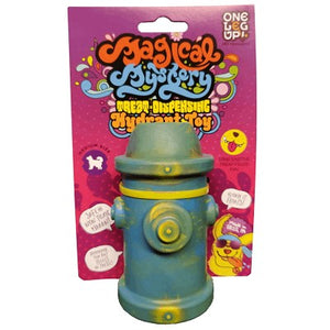 The Magical Mystery Treat-Dispensing Hydrant Toy -  For Dogs 45 LBS. and Under - Bulletproof Pet Products Inc