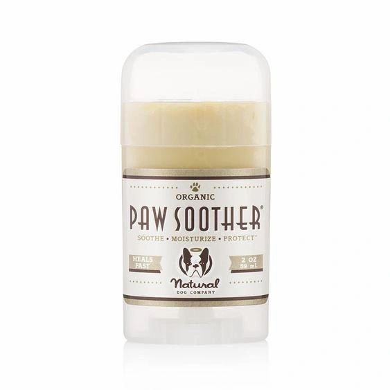 NATURAL DOG ORGANIC PAW SOOTHER - 2 oz. STICK - Bulletproof Pet Products Inc