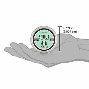 ORGANIC SNOUT SOOTHER BY NATURAL DOG COMPANY - 2 OZ TIN - Bulletproof Pet Products Inc