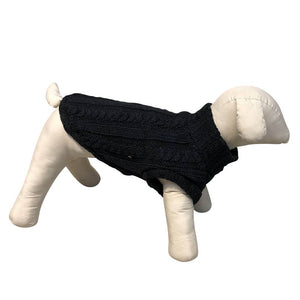 Turtleneck Dog Sweater - Winter Coat Apparel - Bulletproof Pet Products Inc