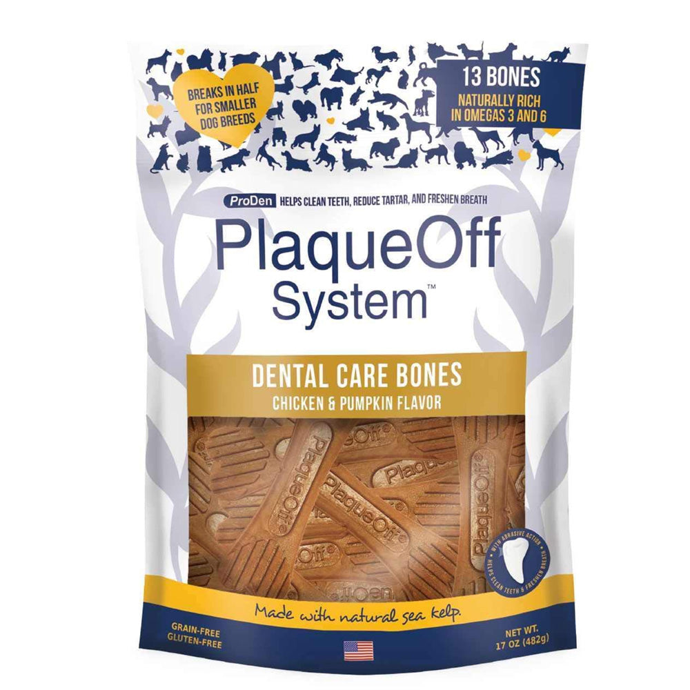 ProDen PlaqueOff Dental Bones by PlaqueOff - Bulletproof Pet Products Inc