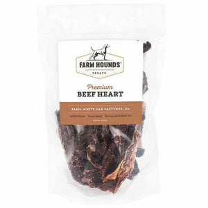 FARM HOUNDS BEEF HEART - Made in the USA - Bulletproof Pet Products Inc