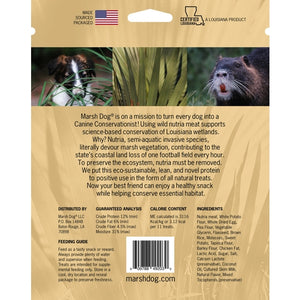 Marsh Dog - Wild Nutria Soft Dog Treats - Bulletproof Pet Products Inc