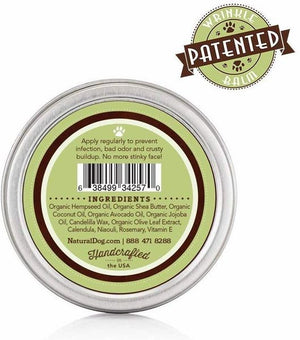 ORGANIC WRINKLE BALM - BY NATURAL DOG - 2 OZ TIN - Bulletproof Pet Products Inc