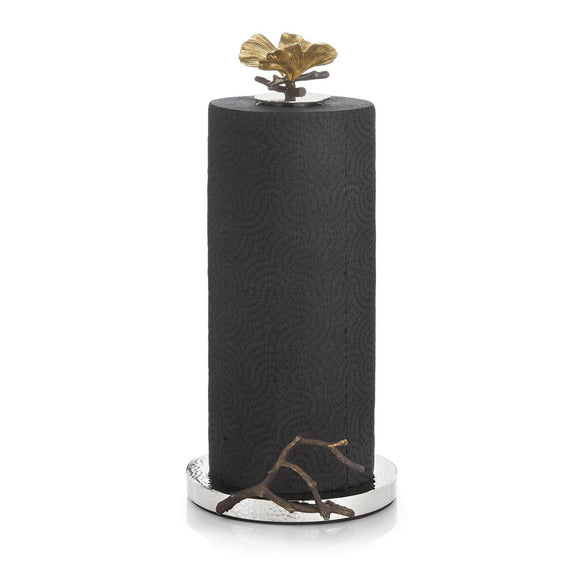 BUTTERFLY GINGKO PAPER TOWEL HOLDER