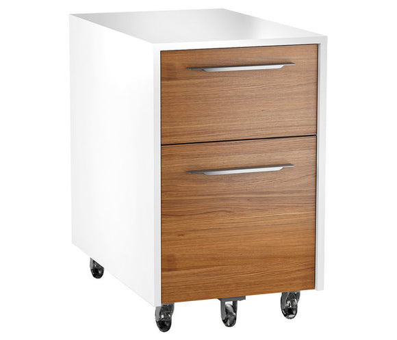 2 DRAWER MOBILE FILE PEDESTAL