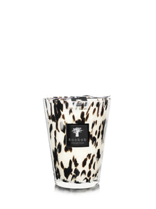 MAX 24 BLACK PEARLS CANDLE