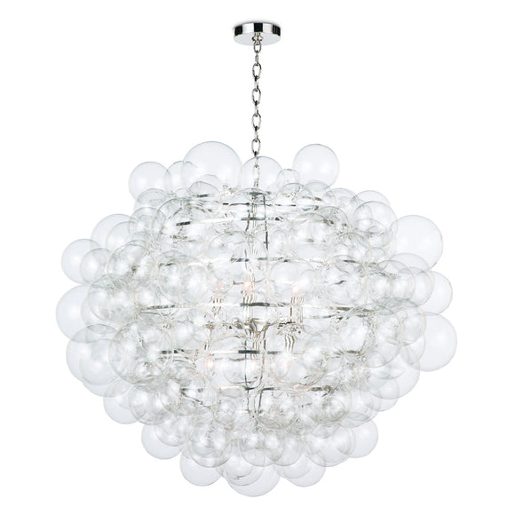 GLASS BUBBLES CHANDELIER