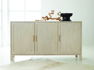 THREE DOOR CREDENZA