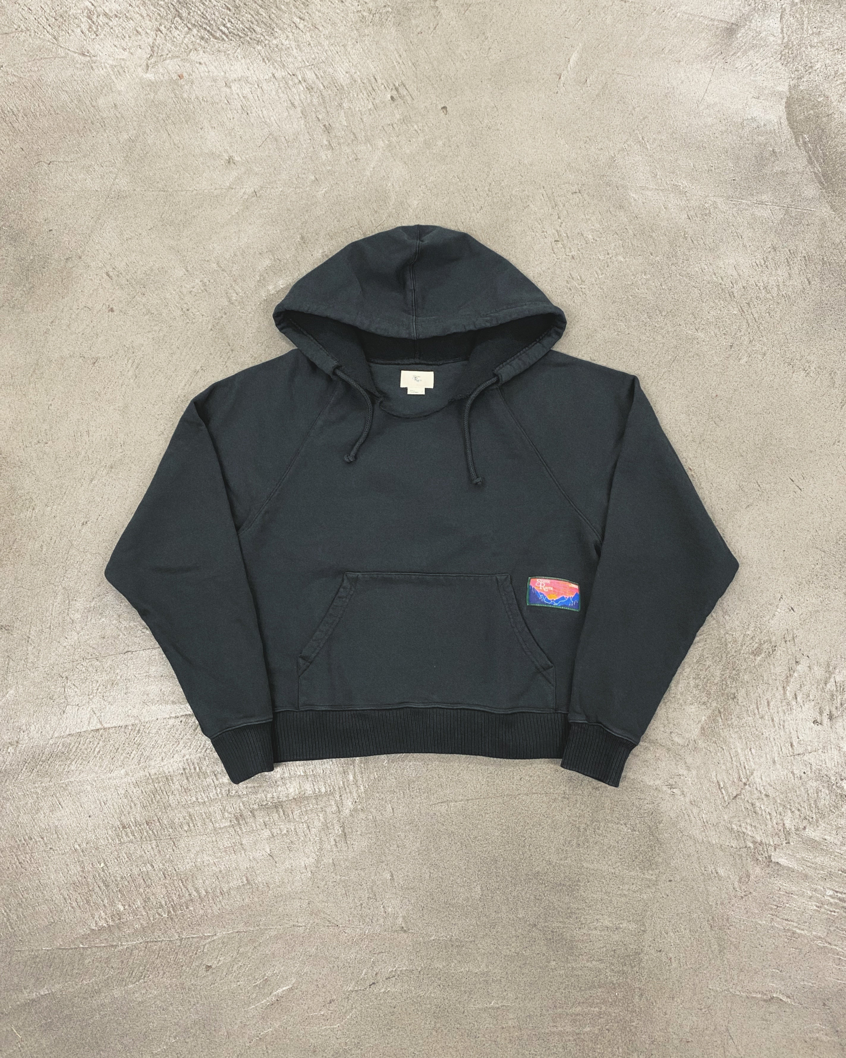 Canyon Hoodie, Washed Black