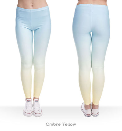 Ombre Workout Leggings