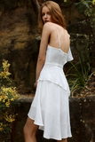 Alexa mini Dress in White by Runaway The Label  side veiww