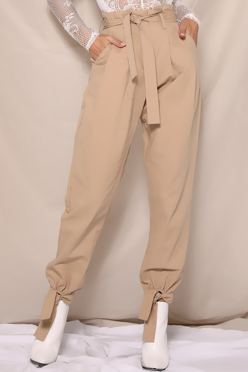 Work it Pants in Tan by Runaway the Label