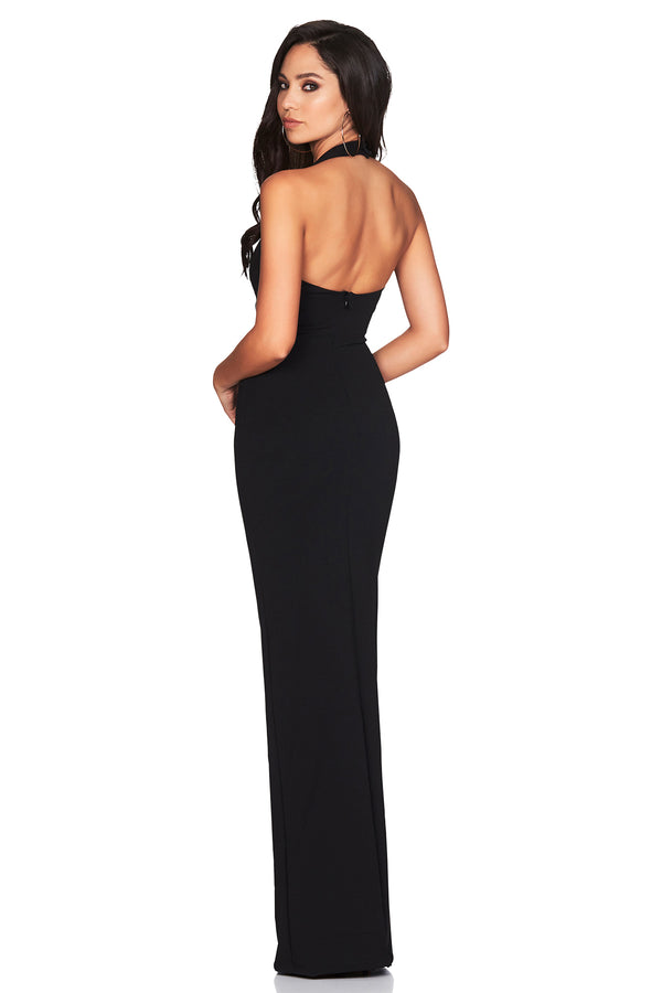 Black Alessandra Gown by Nookie