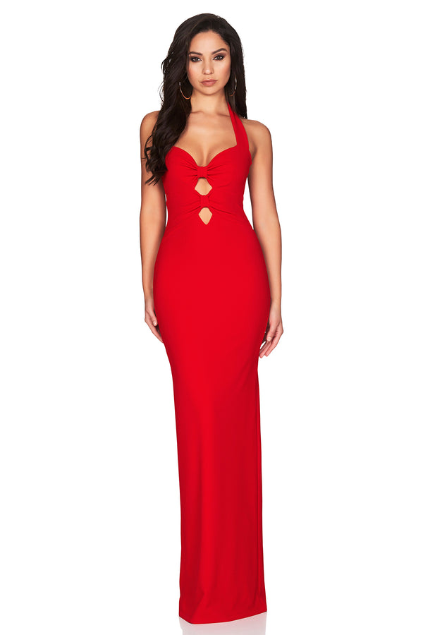 Red Alessandra Gown by Nookie