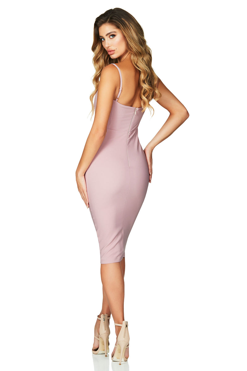 Allure Midi in Dusty Pink by Nookie