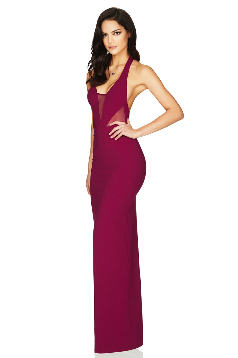 Anais Gown in Ruby Red by Nookie