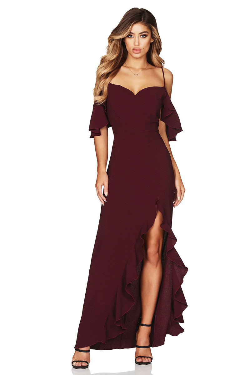 Wine Angel Frill Maxi | by Nookie the Label