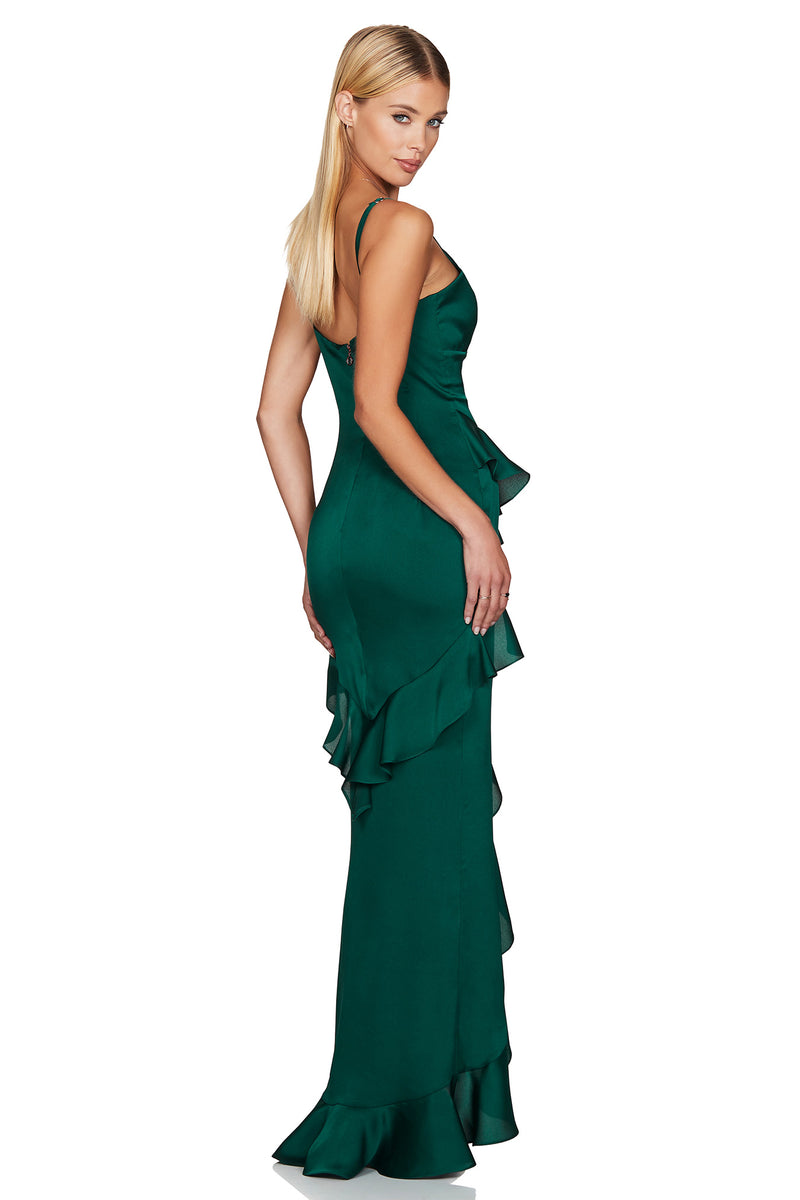 The Ashton Gown in Emerald Green | A Dress by Nookie the Australian Label