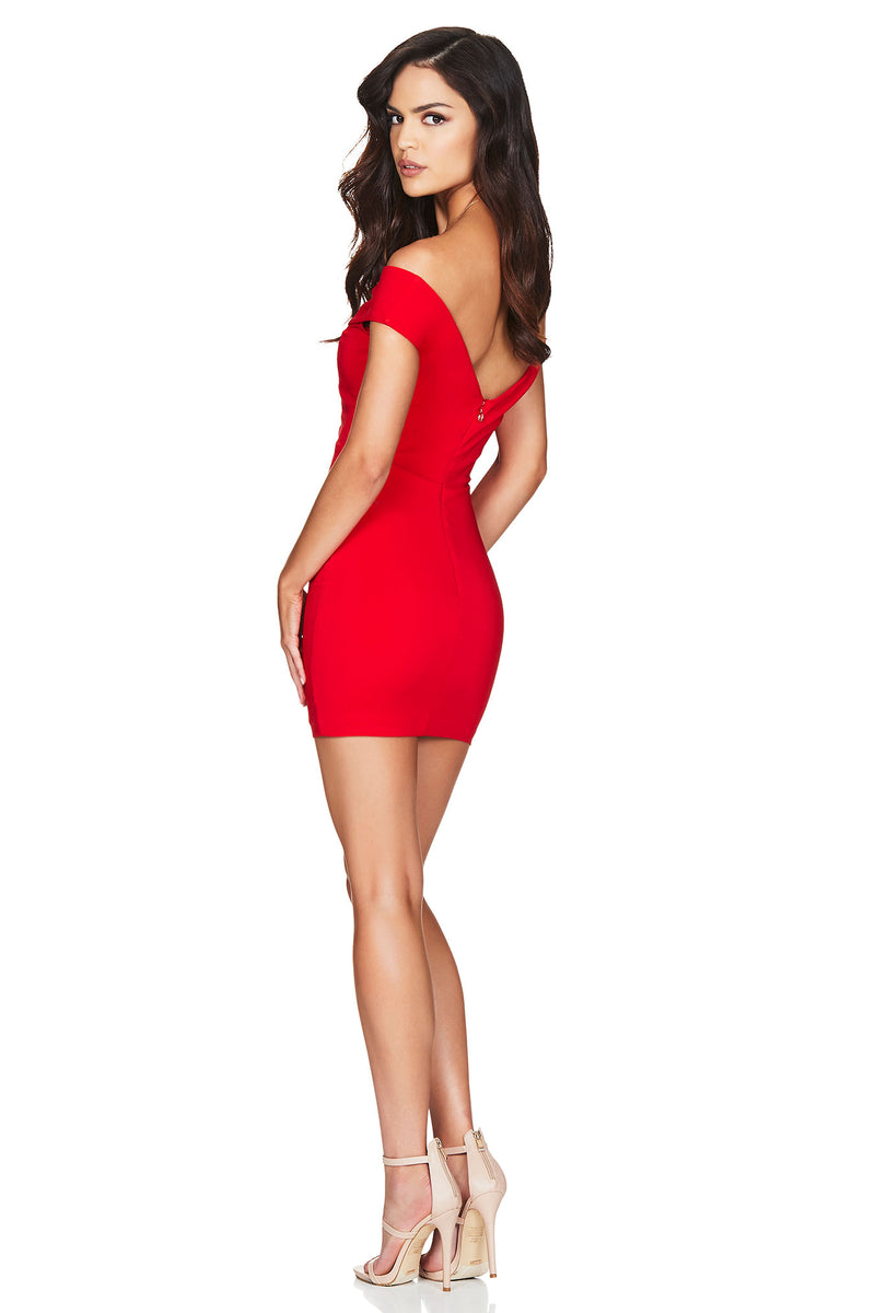 Red Bella Mini Dress | Nookie the Label 1