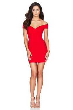 Red Bella Mini Dress | Nookie the Label