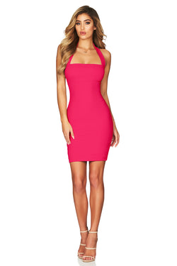 Hot Pink Boulevarde Mini Dress | by Nookie the Label