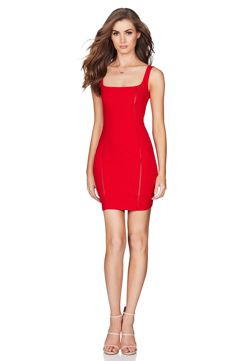 Red Chicago Mini Dress | by Nookie the Label