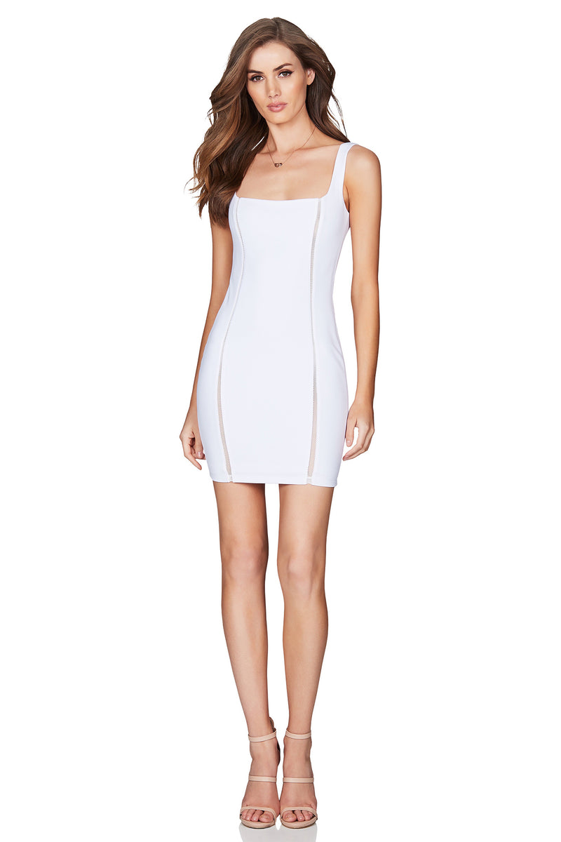 White Chicago Mini Dress | by Nookie the Label