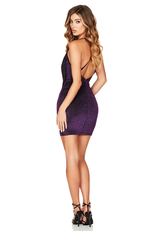 Dreamlover Mini Dress in Purple by Nookie the Label