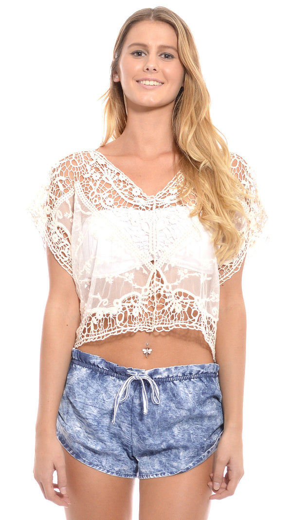 Aurora Lace Top by lost in alila