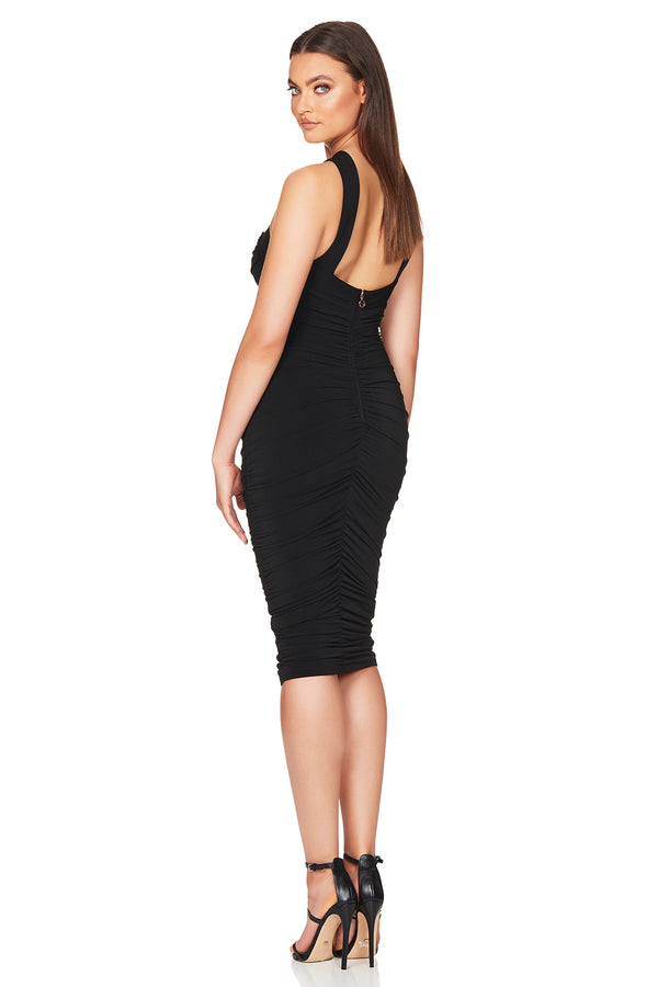 Farrah Midi | Black | Made in Australia by Nookie the Label