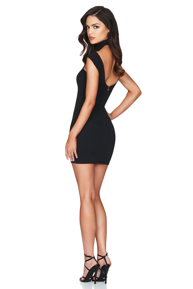 Black Gabrielle Mini Dress | Nookie the Label