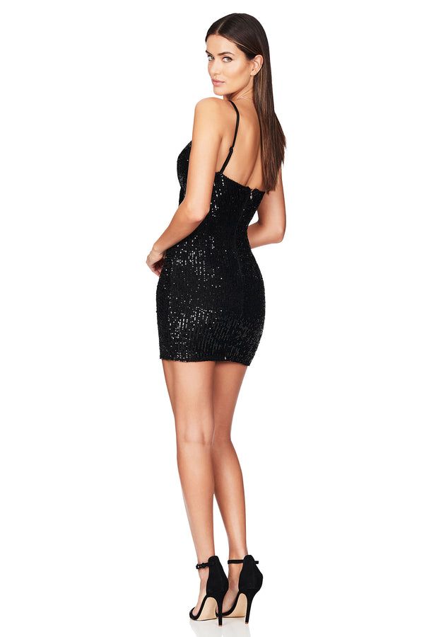 Black Galaxy Mini Dress | Nookie the Label