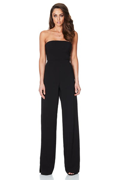 Black Glamour Jumpsuit by Nookie