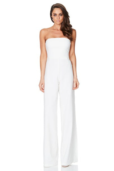 Glamour Jumpsuit in Ivory by Nookie