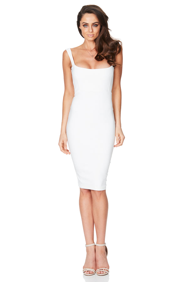Glamour Midi in Ivory by Nookie