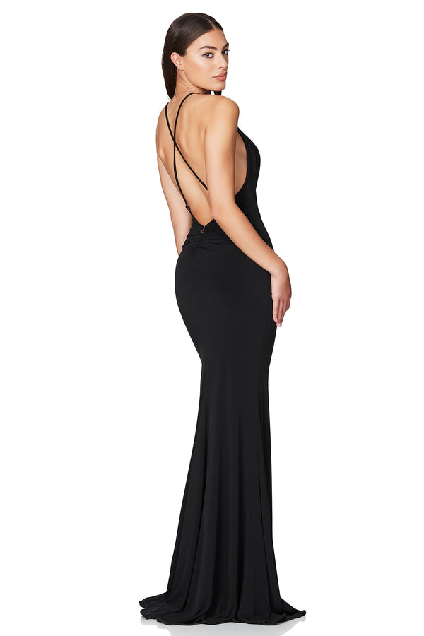 Harley Gown | Black | Dress | by Nookie the Label