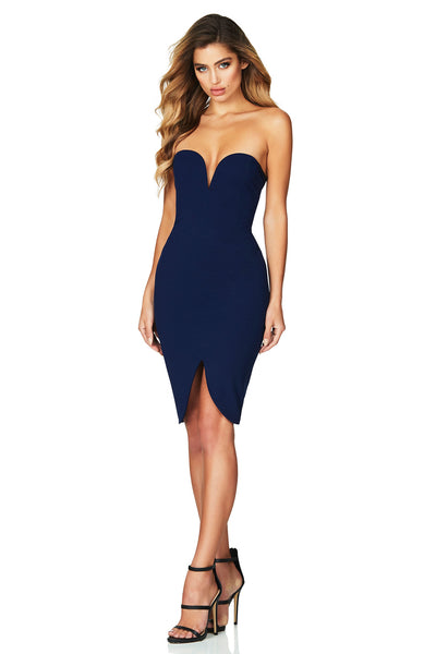 Honey Midi in Navy by Nookie