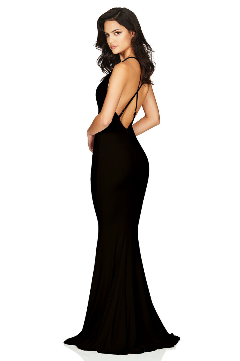 Black Hustle Maxi Dress | Made in Australia by Nookie the Label