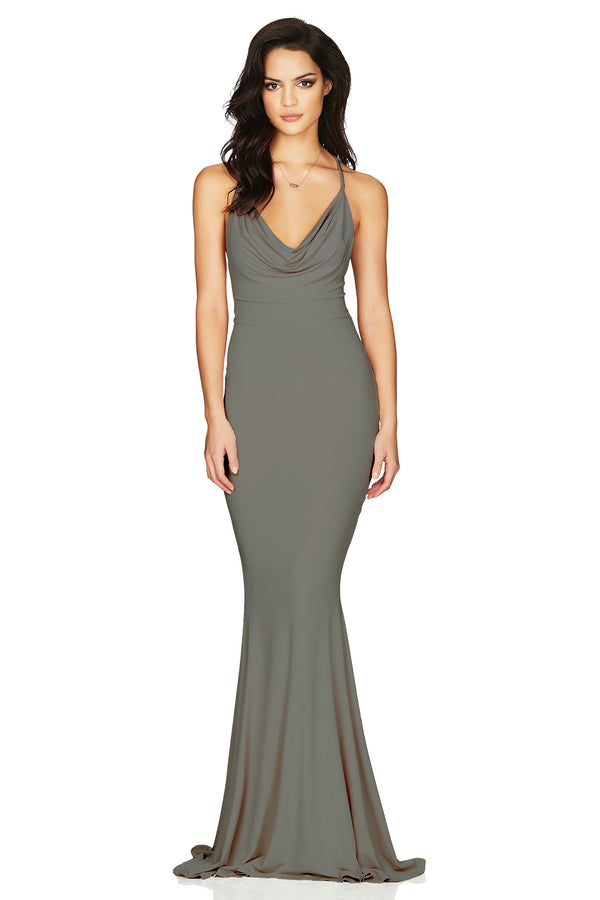 Olive Hustle Maxi Dress by Nookie
