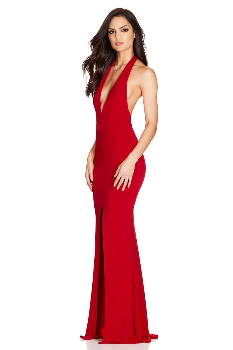Red Illegal Gown | Nookie the Label