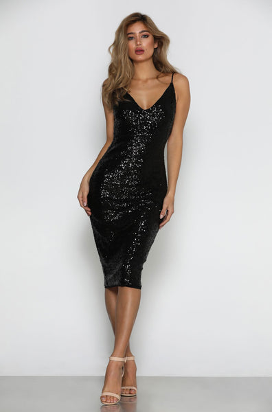 Prato Sequin Dress by Micaah Front View