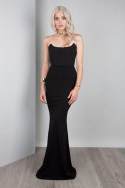 Jadior Gown in Black by Solace the Label - Luxe Locker