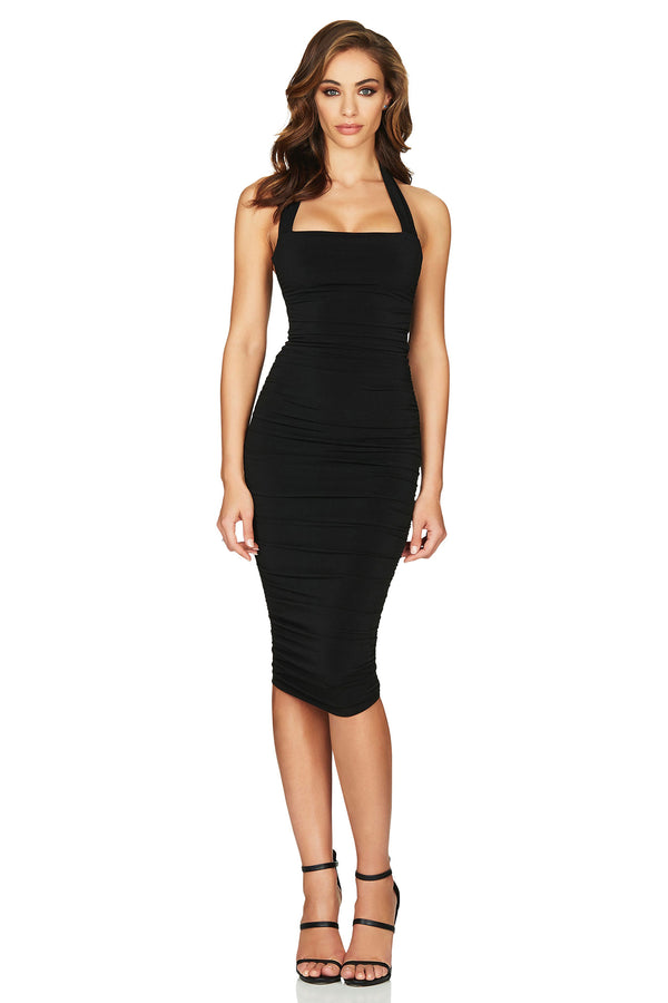 Jolie Halter Midi | Black | Made in Australia by Nookie the Label