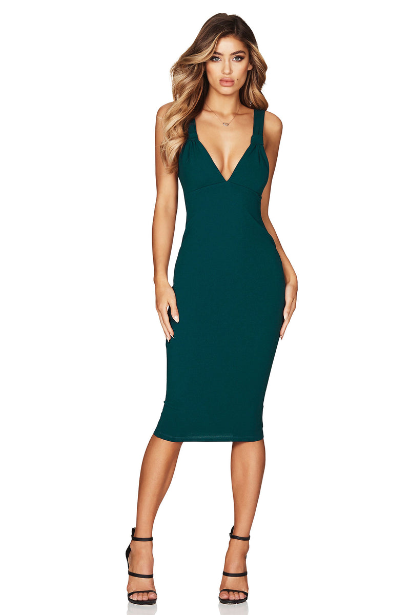 Teal Lust Midi Dress | by Nookie the Label